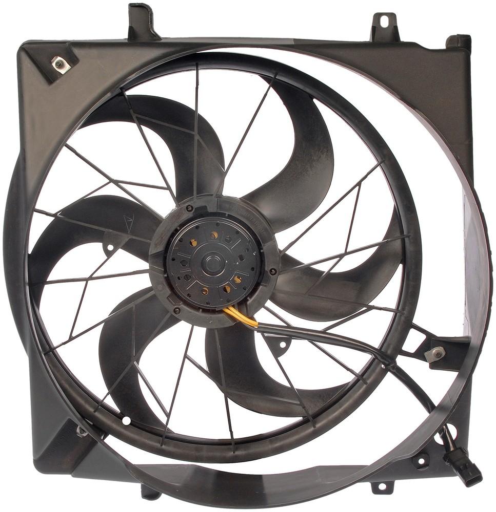 Imagen de Montura de ventilador de enfriado de motor para Jeep Liberty 2004 2005 Marca DORMAN Número de Parte #621-017