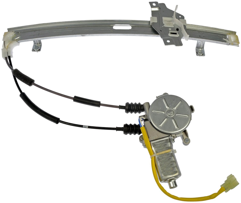 Imagen de Motor y Regulador de Vidrio Automatico para Kia Sephia 1998 1999 Marca DORMAN OE SOLUTIONS Número de Parte #748-378