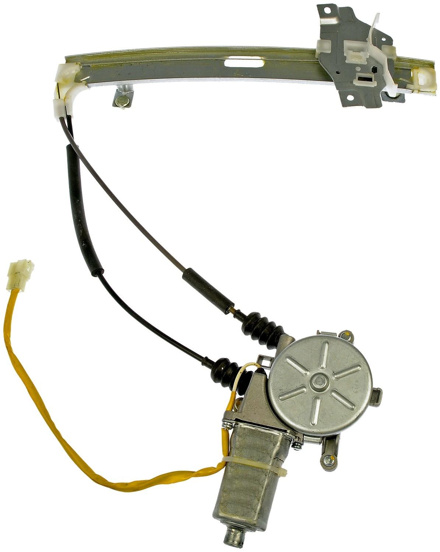 Imagen de Motor y Regulador de Vidrio Automatico para Kia Sephia 1998 1999 Marca DORMAN OE SOLUTIONS Número de Parte #748-380