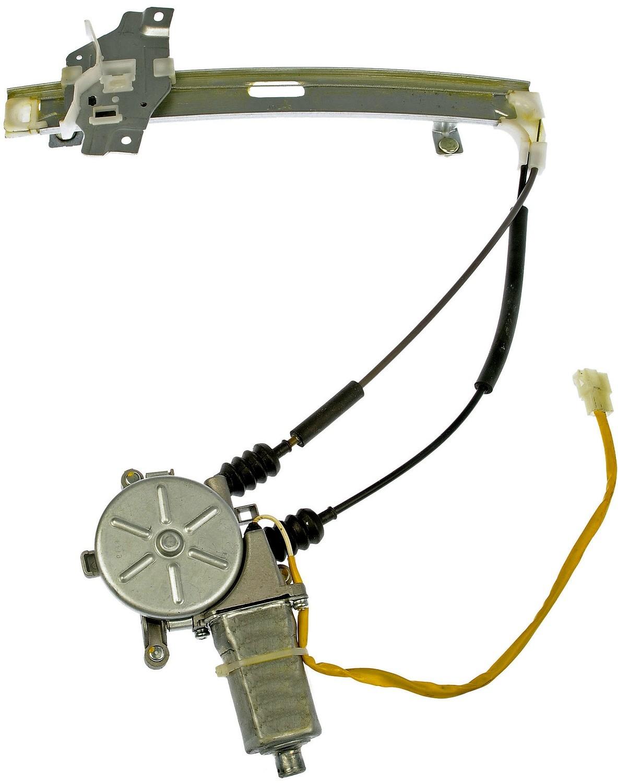 Imagen de Motor y Regulador de Vidrio Automatico para Kia Sephia 1998 1999 Marca DORMAN OE SOLUTIONS Número de Parte #748-381