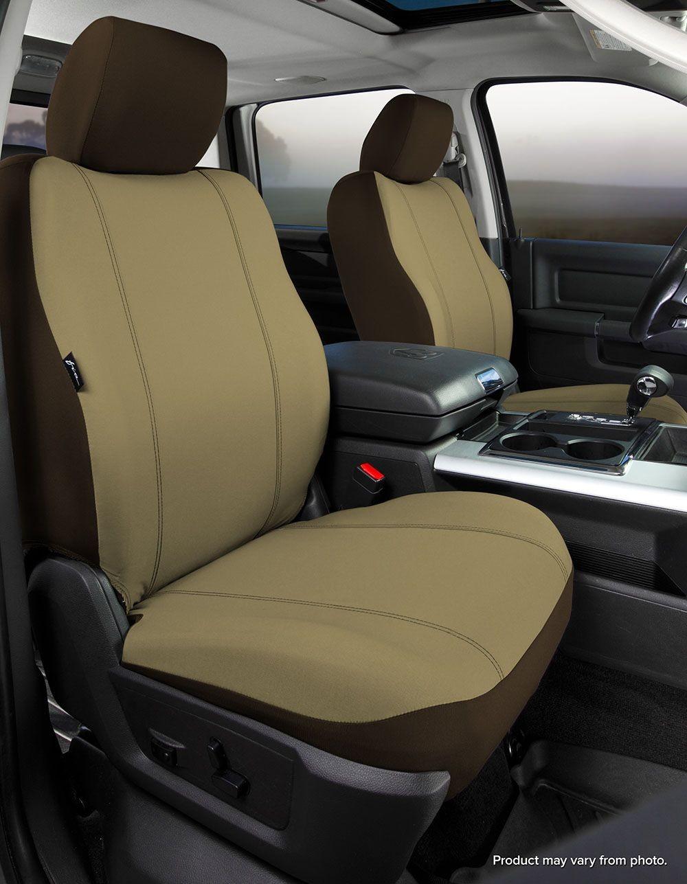 Imagen de Cubierta de asiento para Nissan Frontier 2012 Marca FIA Número de Parte SP89-53 TAUPE