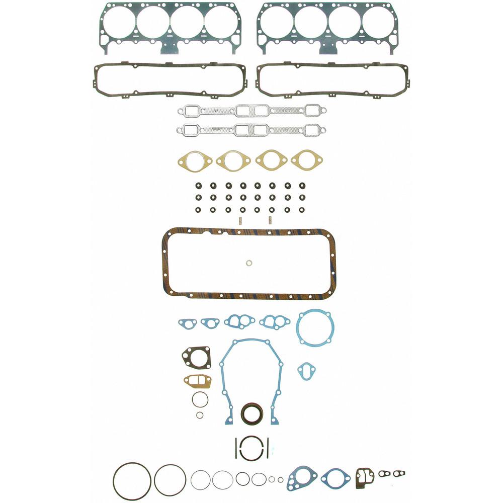 Imagen de Juego Completo Empacaduras del Motor para Jensen Chrysler Dodge Plymouth Facel Vega Bristol Dual-Ghia Monteverdi Marca FELPRO Número de Parte FS 7891 PT-11