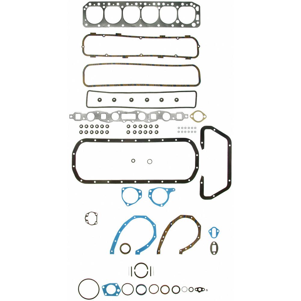 Imagen de Juego Completo Empacaduras del Motor para Ford Mercury Edsel Marca FELPRO Número de Parte FS 7994 PT-4