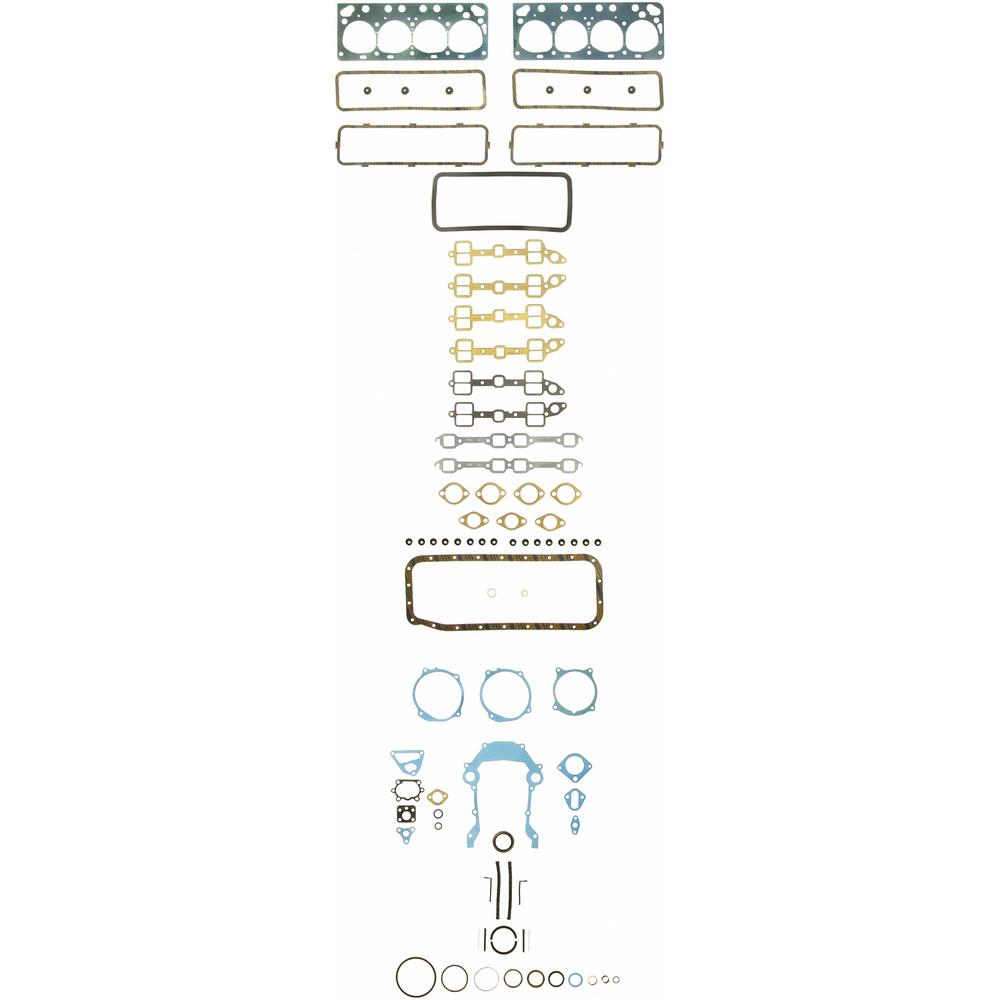 Imagen de Juego Completo Empacaduras del Motor para Ford Mercury Edsel Marca FELPRO Número de Parte FS 7999 PT-3