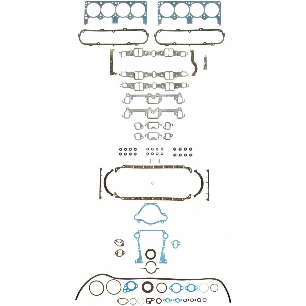 Imagen de Juego Completo Empacaduras del Motor para Dodge D200 Pickup 1969 Marca FELPRO Número de Parte FS 8553 PT-12