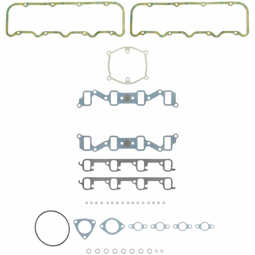 Imagen de Juego de Empacaduras de la Culata para GMC R3500 1990 Marca FELPRO Número de Parte HSU 8726-1