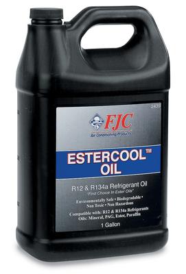 Imagen de Aceite refrigerante R12 Estercool para Audi GMC Volvo Fiat BMW Alfa Romeo Mercedes-Benz Dodge Toyota Nissan... Marca FJC, INC. Número de Parte 2439