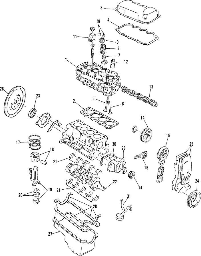 Empacadura de la culata para Ford Escort 1999
