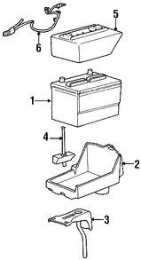 Imagen de Arnés de Cable de Batería Original para Ford Mustang 2007 2008 Marca FORD Número de Parte 8R3Z14300BA