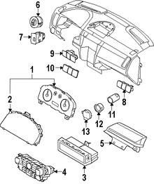 Imagen de Panel de Control de Termperatura Climatización Original para Ford Focus 2008 2009 2010 2011 Marca FORD Remanufacturado Número de Parte AS4Z19980D
