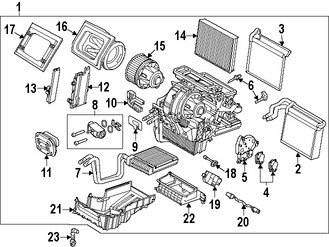 Relés e interruptores de Aire Acondicionado para Ford