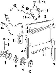 Compresor Aire Acondicionado Original para Ford Mercury