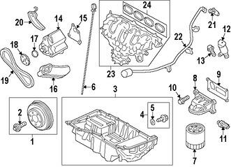 Rueda Dentada Distribución para Ford Explorer 2013