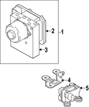 Imagen de Sensor de Velocidad Freno ABS Original para Ford  2010 2011 2012 2013 Marca FORD Número de Parte 6G9Z14B296A