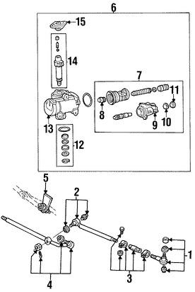 Imagen de Caja de Engranajes Original para Ford E-150 2005 2006 2007 Ford E-150 Club Wagon 2005 Marca FORD Remanufacturado Número de Parte 6C2Z3504AARM