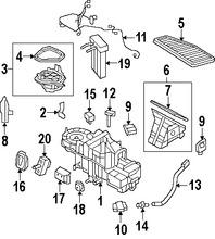 Calefaccion, core y valvulas para Ford Escape 2011