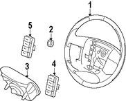 Imagen de Timon / Volante / Manubrio Original para Ford Edge 2007 2008 Marca FORD Número de Parte 7T4Z3600AB