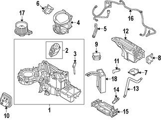 Relés e interruptores de Aire Acondicionado para Ford F