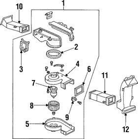 Mando de la Compuerta Mezcladora Original para Mercury