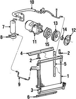 Acumulador, Secador y Válvulas de Aire Acondicionado para