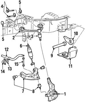 Barra Estabilizadora de Suspensión Original para Ford