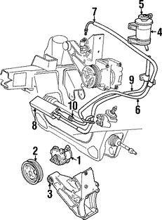 Bomba de Dirección Asistida, mangueras y kits para Ford