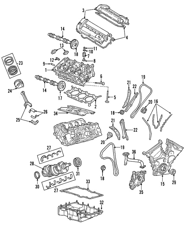 Motor Completo Original Para Ford Freestyle Ford Five Hundred
