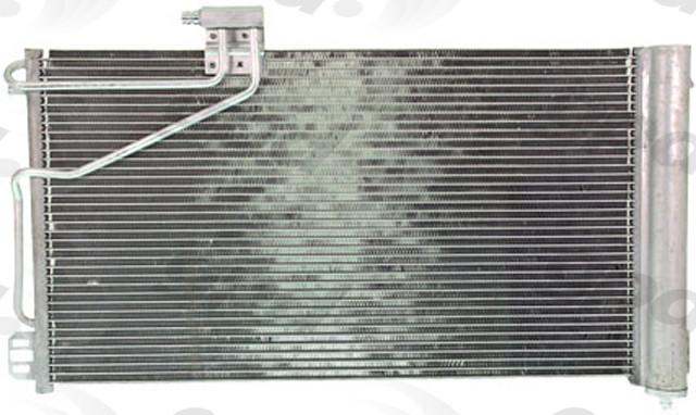 Imagen de Condensador de Aire Acondicionado para Mercedes-Benz C240 2004 2005 Marca GLOBAL PARTS Número de Parte 3268C