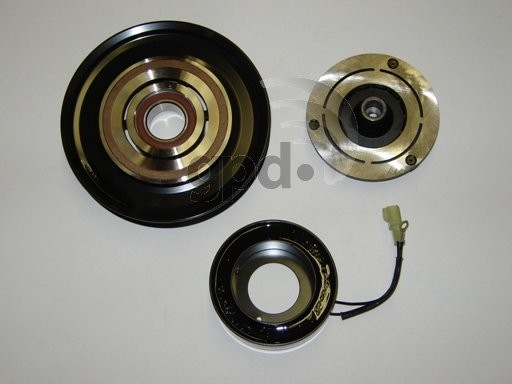 Imagen de Embrague del Compresor de Aire Acondicionado para Honda Accord 1992 1993 Marca GLOBAL PARTS Número de Parte 4321299