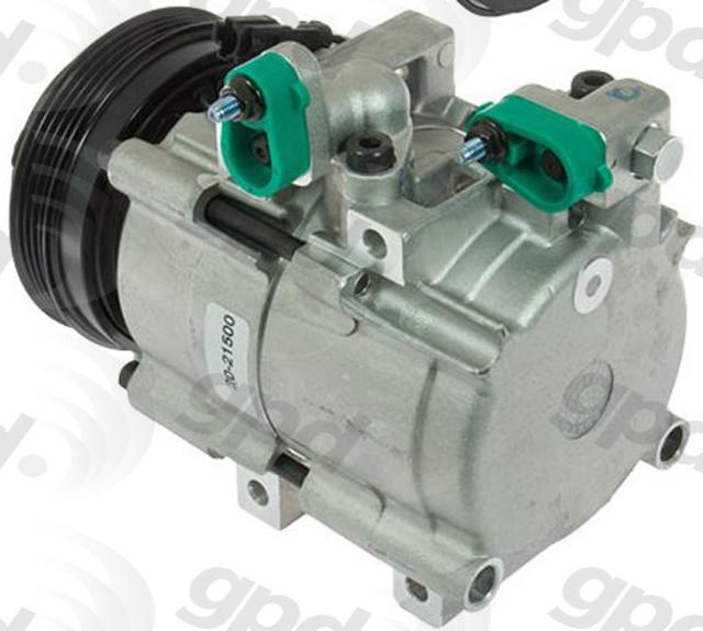 Imagen de Compresor Aire Acondicionado para Toyota Scion Lexus Suzuki Pontiac Kia Hyundai Marca GLOBAL PARTS Remanufacturado Número de Parte 5512206