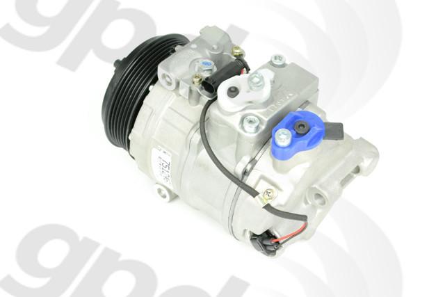 Imagen de Compresor Aire Acondicionado para Mercedes-Benz ML350 2010 Marca GLOBAL PARTS Remanufacturado Número de Parte 5512461