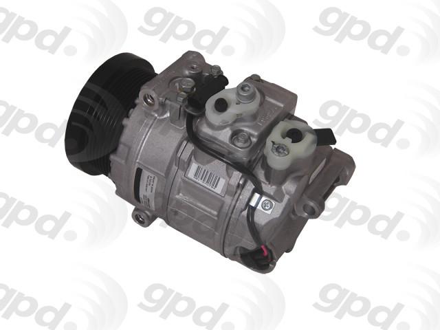 Imagen de Compresor Aire Acondicionado para Dodge Sprinter 2500 2008 Marca GLOBAL PARTS Número de Parte 5512468 Remanufacturado