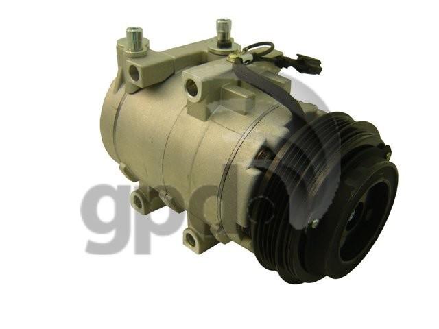 Imagen de Compresor Aire Acondicionado para Kia Sorento 2003 2004 2005 2006 Marca GLOBAL PARTS Número de Parte #6512206