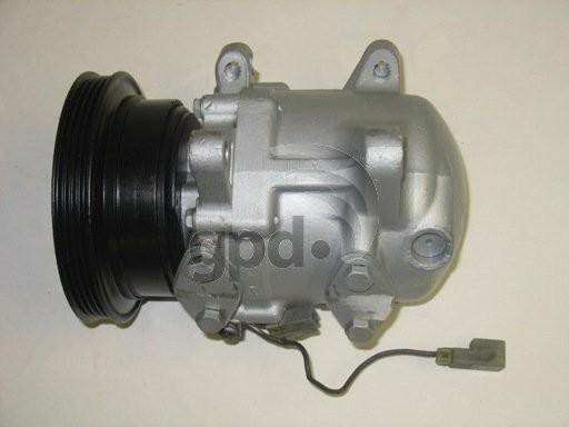 Imagen de Compresor Aire Acondicionado para Nissan Pulsar NX 1989 Nissan Sentra 1989 1990 Marca GLOBAL PARTS Número de Parte 7511903