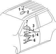 Conjuto de Antena de GPS para Saab
