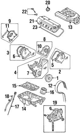 Varilla de Nivel de Aceite para Honda Odyssey 2002