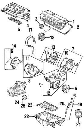 Engranaje del árbol de levas Original para Acura CL Acura