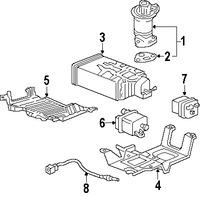 Imagen de Sensor de oxigeno Original para Honda Odyssey 2009 2010 2008 Marca HONDA Número de Parte 36532RGWA02