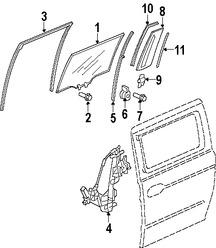 Puertas, Ventanas y Puertas Traseras para Honda Odyssey 2005