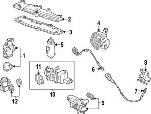 Emision, Sensores, Reles y Switches para Honda Accord 1997