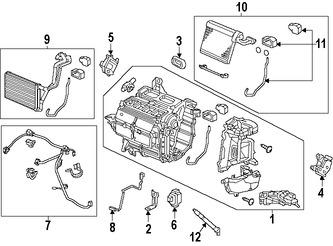 Relés e interruptores de Aire Acondicionado para Honda