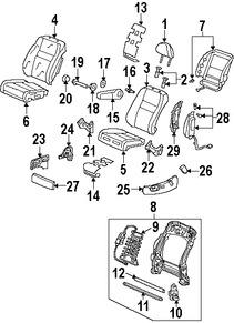 Repuestos y Accesorios para autos Acura RDX