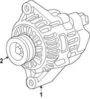 Imagen de Polea del Alternador Original para Honda Fit 2015 2016 2017 Marca HONDA Número de Parte 311415R7A01