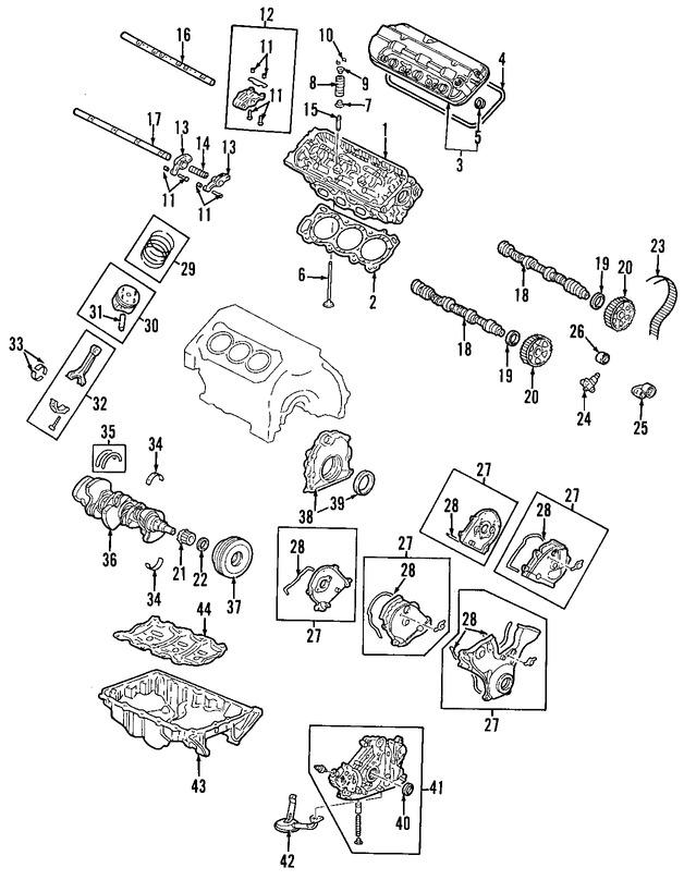 Arbol de Levas para Honda Accord 2004
