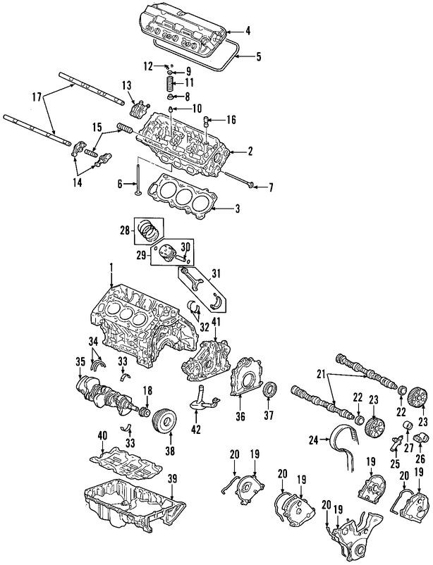 Culata del motor para Honda Pilot 2006