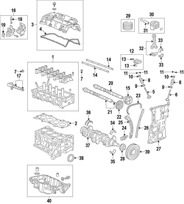 Imagen de Empacadura de la culata Original para Honda Fit 2015 2016 2017 Marca HONDA Número de Parte 122515R0013