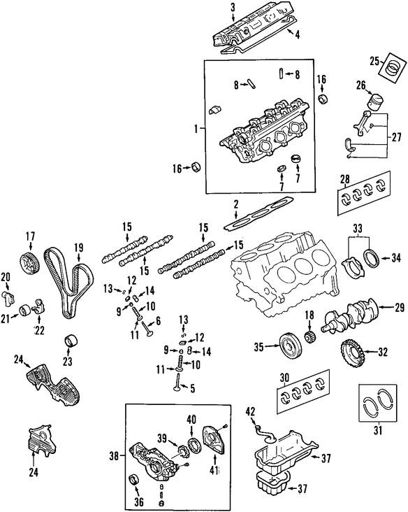 Imagen de Empacadura de la culata Original para Hyundai XG300 2001 Marca HYUNDAI Número de Parte 2231139001