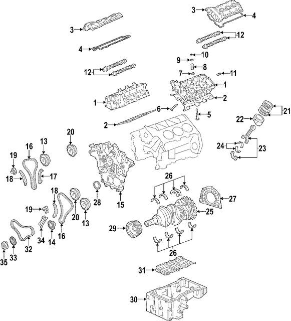 Imagen de Motor Completo Original para Hyundai Entourage 2007 2008 Marca HYUNDAI Número de Parte 211013CC00