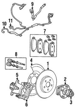 Imagen de Guía del Pasador de Caliper Original para Jaguar X-Type 2005 2006 2007 2008 Marca JAGUAR Número de Parte C2S46545