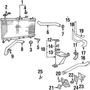 empacadura de la carcasa del termostato del refrig